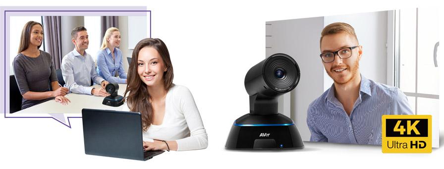 AVer VC322 - foto in sala riunioni - risoluzione 4K