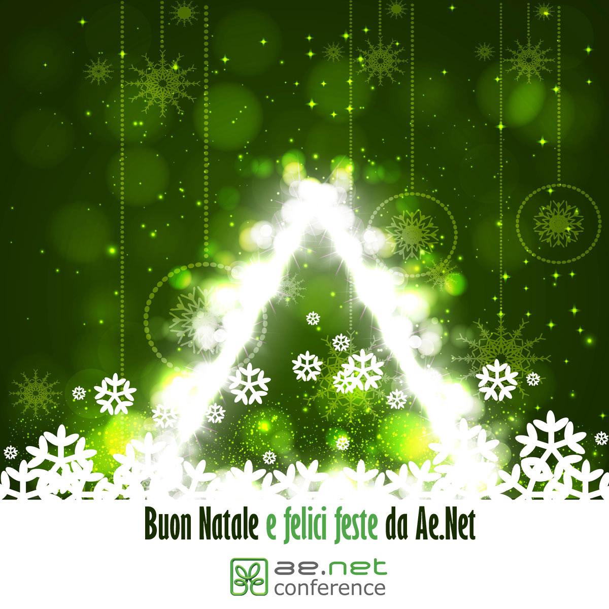 Buon Natale e felici feste da Ae.Net