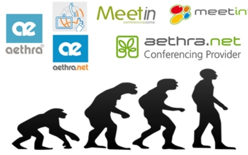Aethra.net e MeetIn - brand evolution