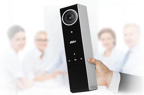 AVer VC320 - sistema di videoconferenza portatile