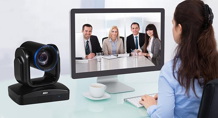 videoconferenza da PC con telecamera AVer