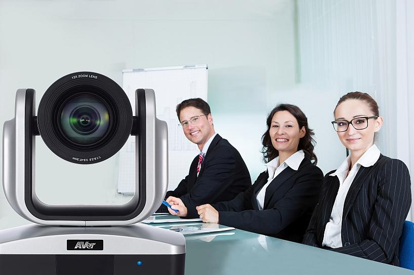 AVer VC 520+ in una sala di videoconferenza