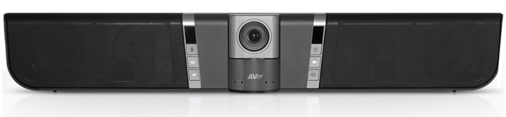 AVer VB342 - foto frontale della soundbar per la videoconferenza